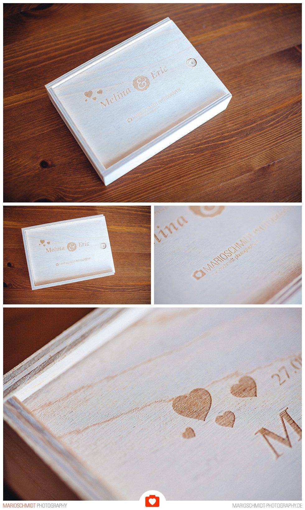 Geschenkbox zur Übergabe von Hochzeitsfotos (2)