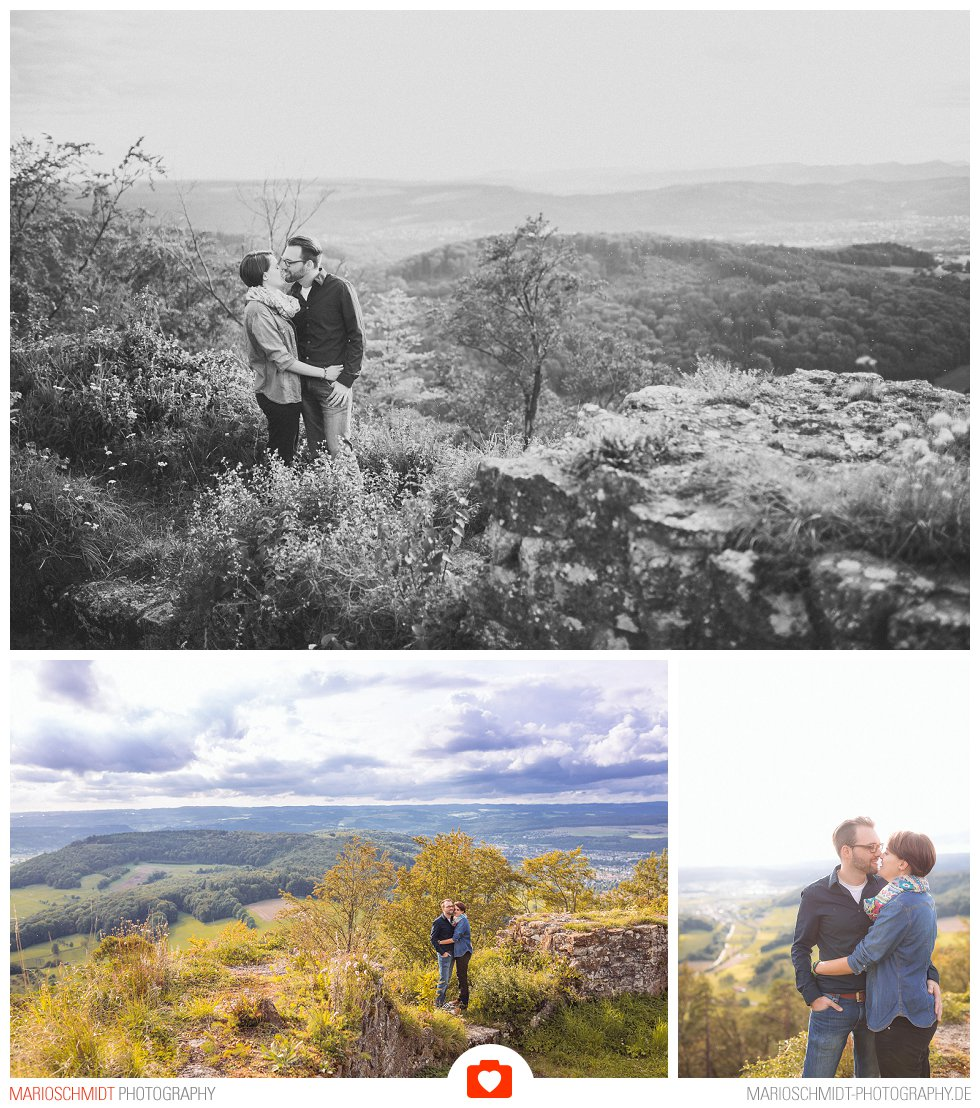 Echtes Verlobungs-Shooting auf der Küssaburg - Isabell und Daniel (7)