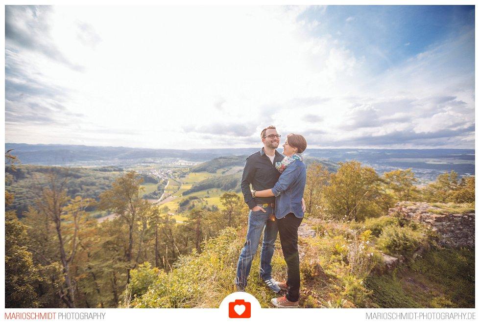 Echtes Verlobungs-Shooting auf der Küssaburg - Isabell und Daniel (8)