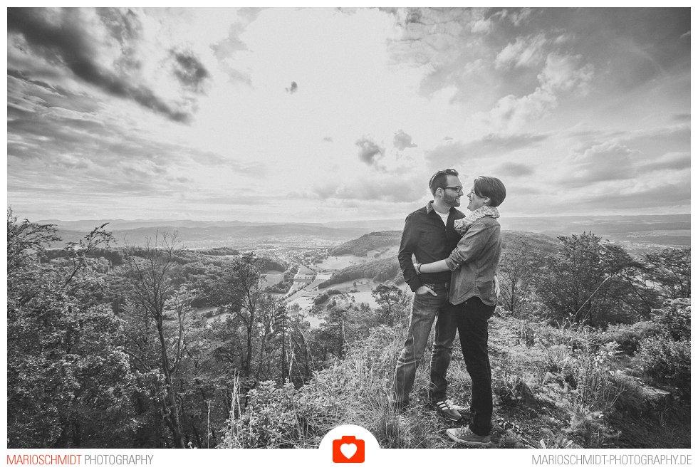 Echtes Verlobungs-Shooting auf der Küssaburg - Isabell und Daniel (9)
