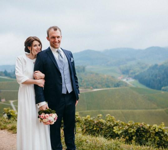 Hochzeit in Offenburg und  Durbach – Sandrina und Felix