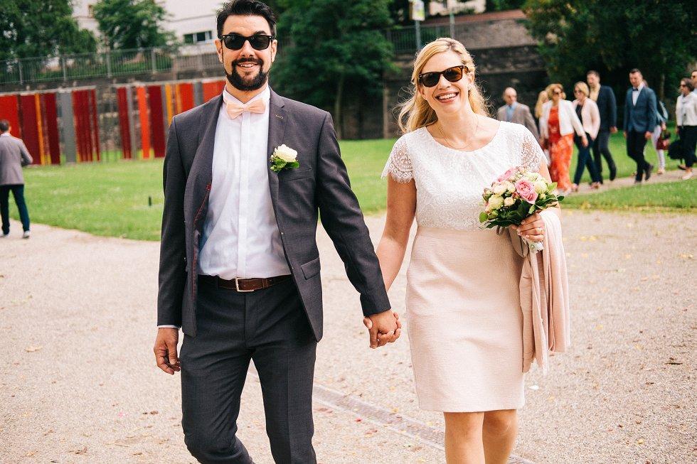 Standesamtliche Hochzeit in Offenburg - Carina und Simon (2)