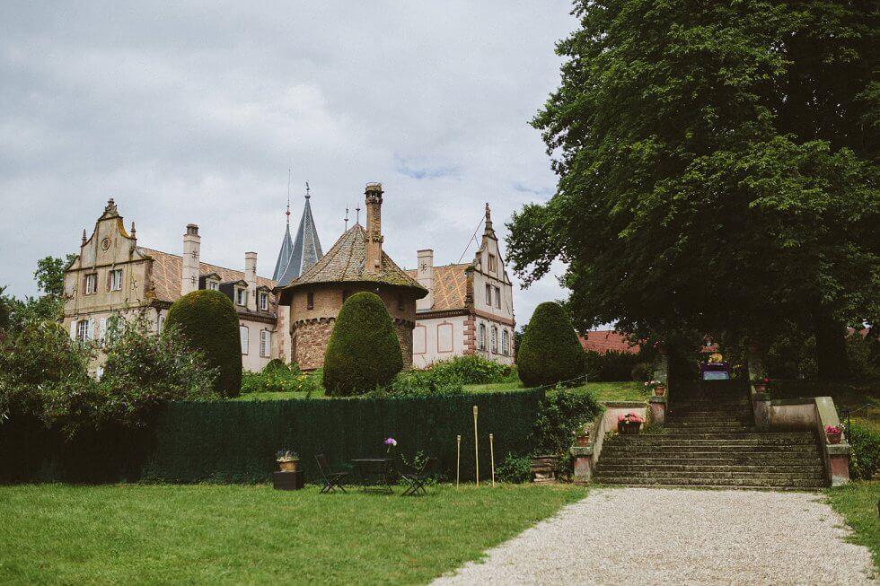 Hochzeit auf einem Schloß in Frankreich - Sarah und Philipp (1)