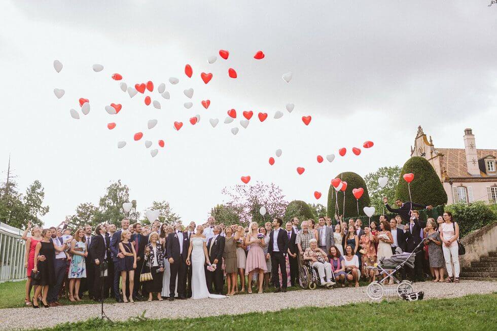 Hochzeit auf einem Schloß in Frankreich - Sarah und Philipp (42)