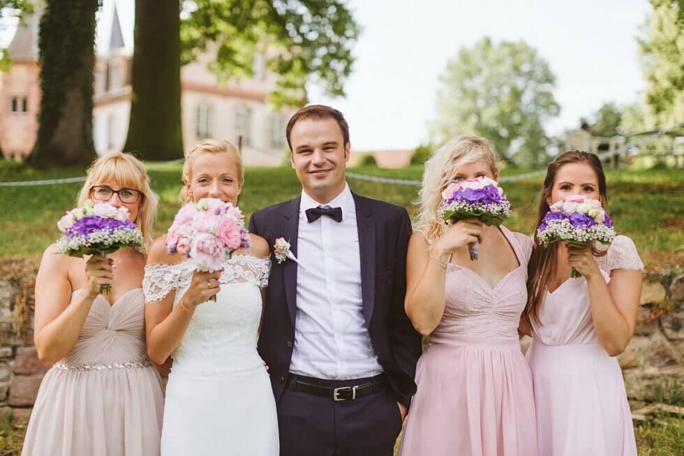 Hochzeit auf einem Schloß in Frankreich - Sarah und Philipp (45)
