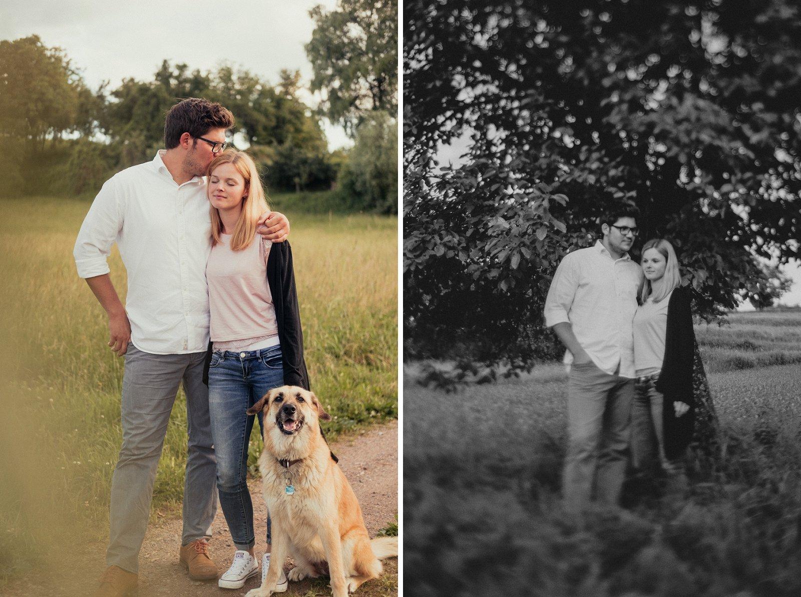 Engagement-Shooting in Ettenheimweiler - Monya und Dirk